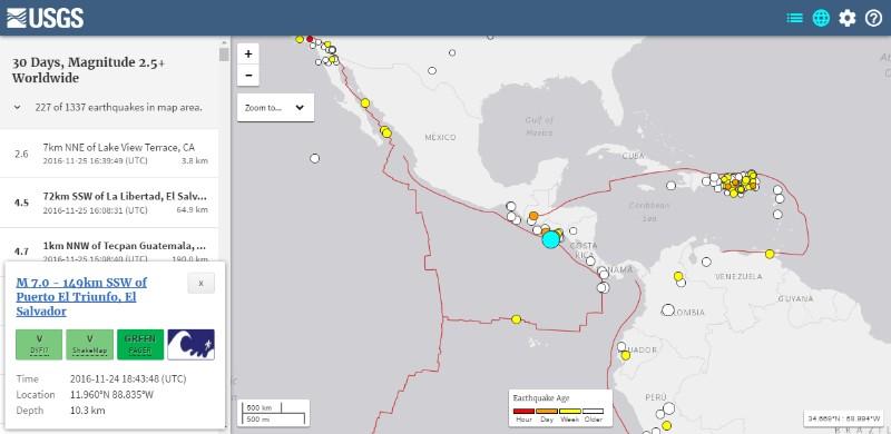 中国・タジキスタン国境付近で「M6.5」 エルサルバドルで「M7.0」の地震発生