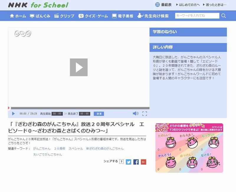 【闇深】NHKでやっていた「ざわざわ森のがんこちゃん」っていう子供向け番組が人類絶滅してたりで設定が深すぎるんだが....