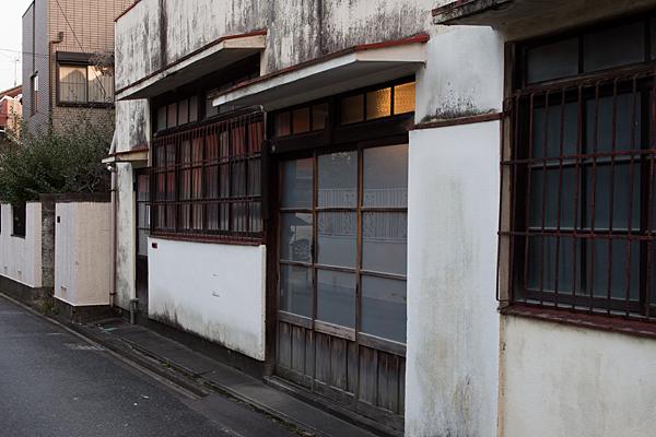 百人町古い家屋