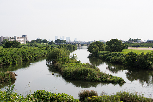 庄内川と名駅方面