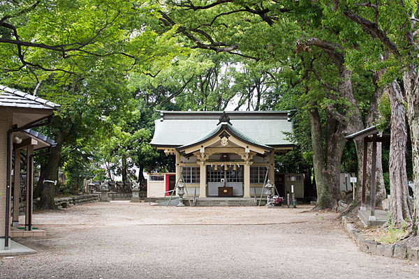 小木田神社拝殿