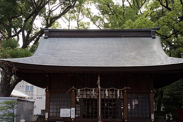 神明社拝殿