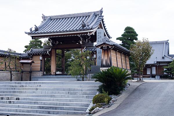 利海寺入り口