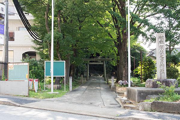 須佐之男神社入り口