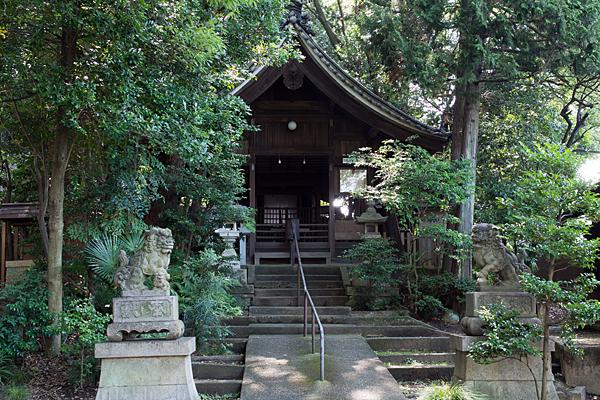 須佐之男神社拝殿