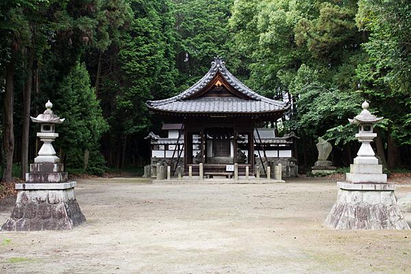 多度神社社殿