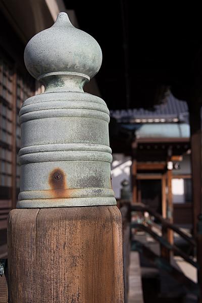 長慶寺擬宝珠
