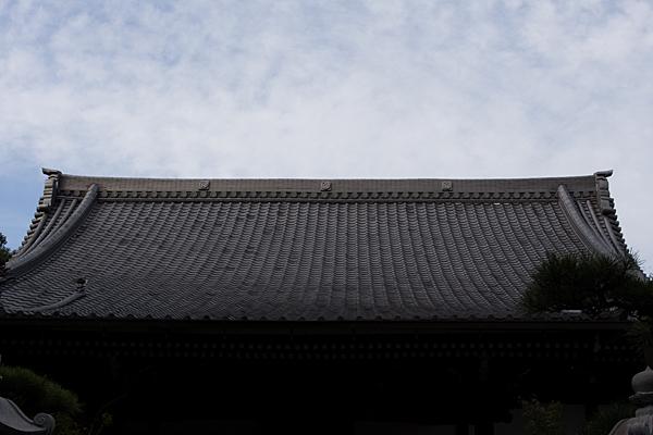 大永寺本堂屋根