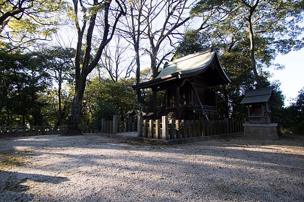 菅田神社社殿と境内