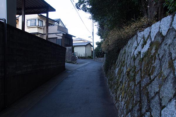 野並の鎌倉街道