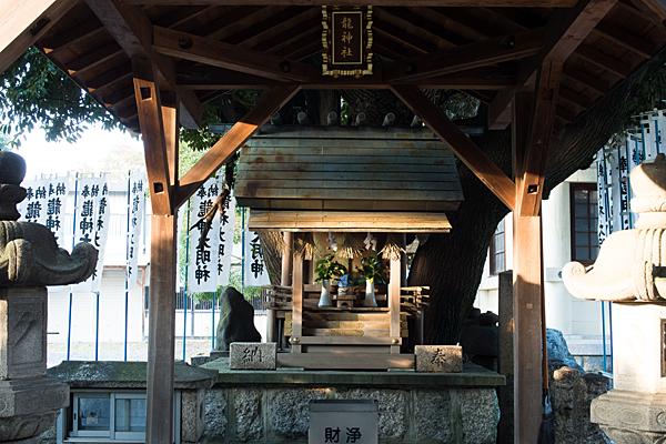 矢田六所神社龍神社