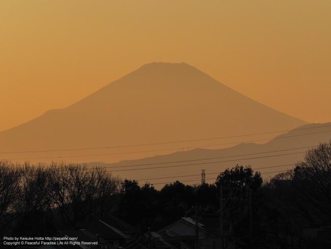 2017年の富士山