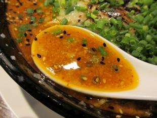 吉風赤道 ニラ担々麺 スープ