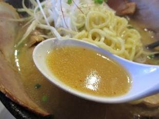 万人家紫竹 万人味噌 スープ