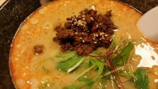 つばめや 担々麺 (2)