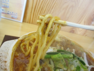 高野 モツ味噌 麺