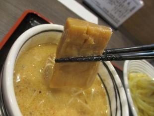 まっくうしゃ笹口 味噌つけ麺 具