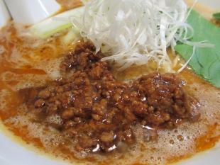 アオゾラメンポ 担々麺 具
