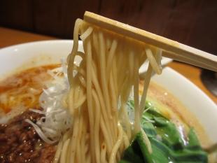 アオゾラメンポ 担々麺 麺