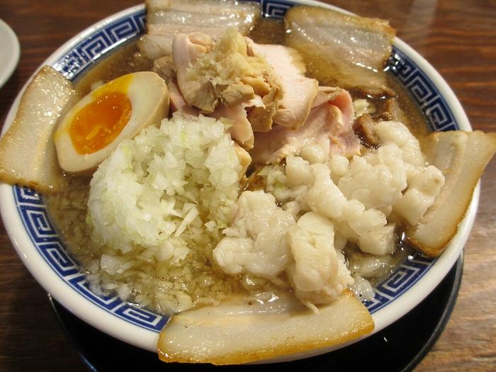 八ちゃんラーメン 肉中華ソバ(並)