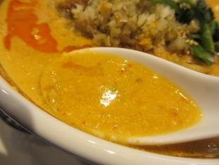 かなみ屋女池 四川担々麺 スープ