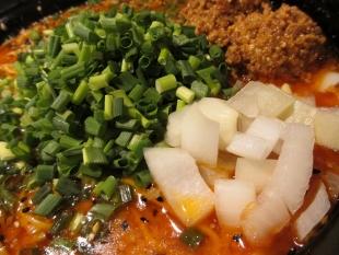 吉風フレスポ赤道 担々麺 具