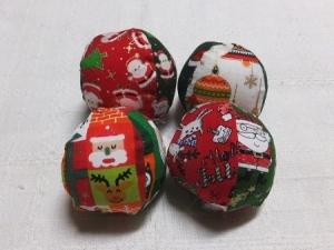クリスマス NEW お手玉