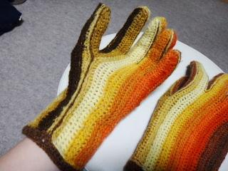 タリフさん手袋洗ったあと