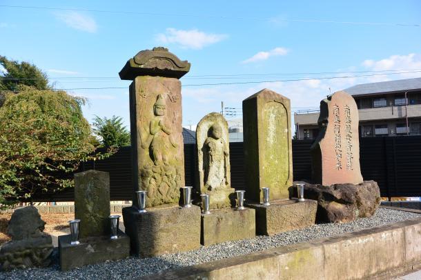 笠松墓地②