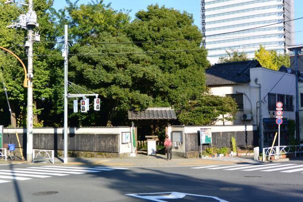 旧安田庭園①