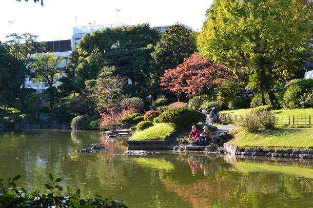 旧安田庭園②
