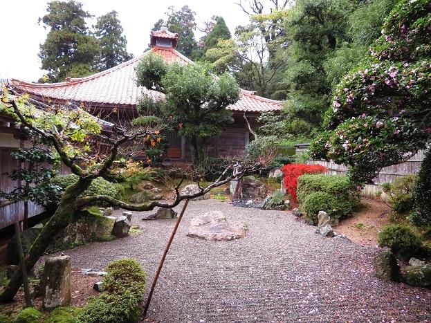 帝釈寺 枯山水の庭