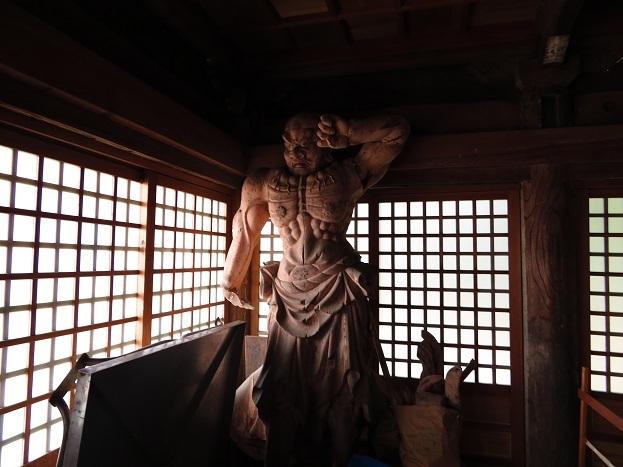 帝釈寺 仁王像