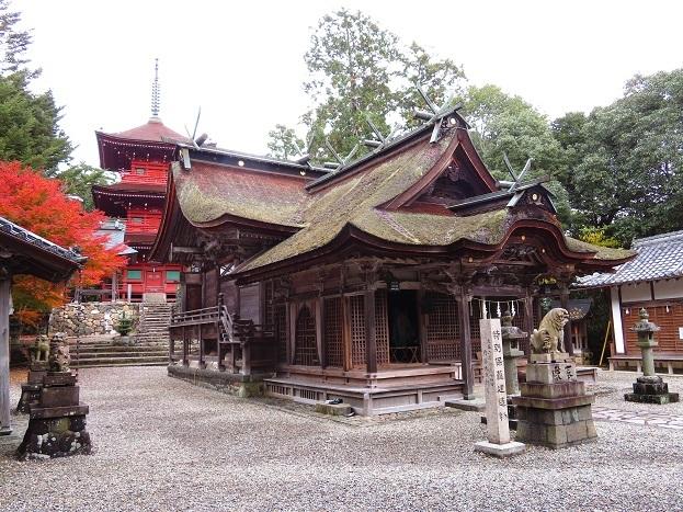 柏原八幡神社 社殿