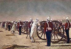 インド大反乱 反乱軍の処刑