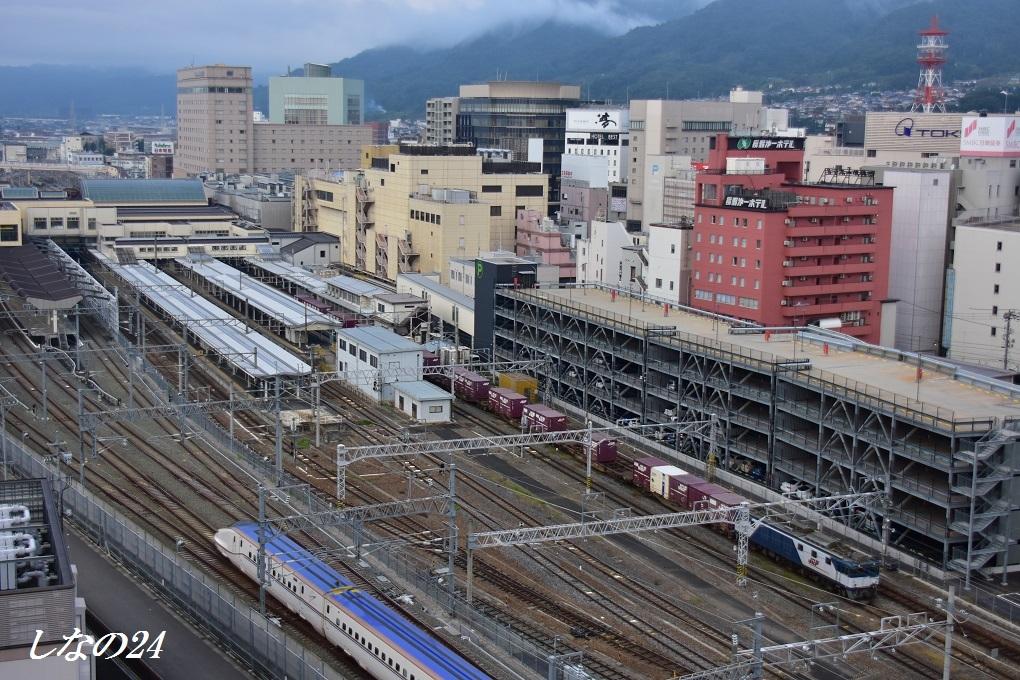 長野駅64×新幹線