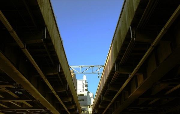 フリー画像東京の空・縮小版