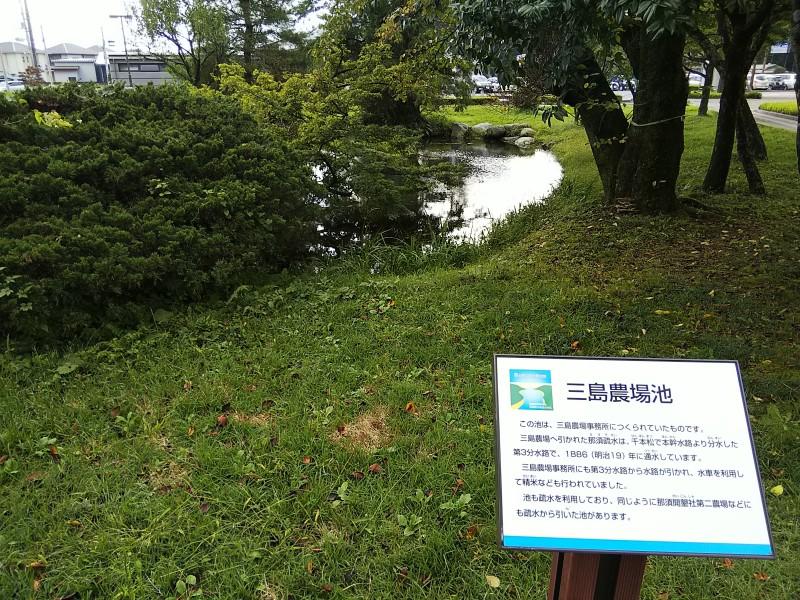 三島農場池2018