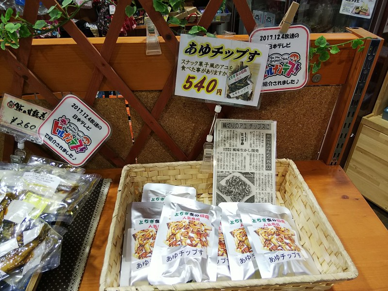 道の駅那須野与一の郷あゆチップす2018