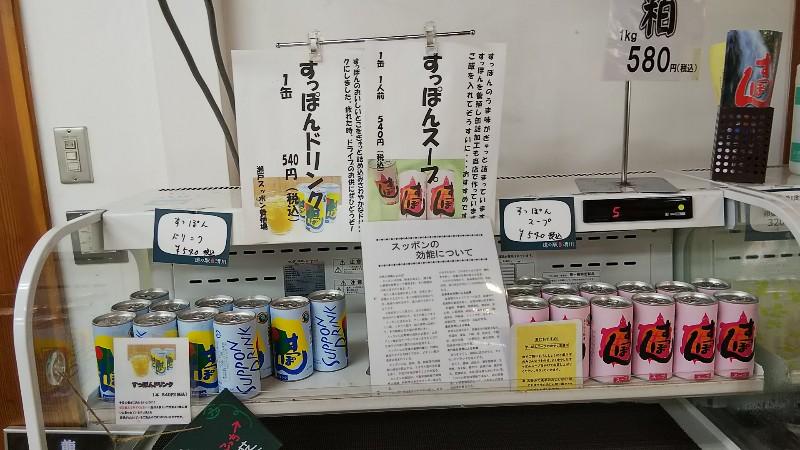道の駅清川すっぽんドリンク2018