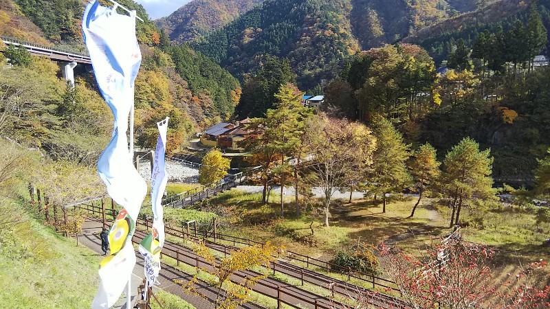 道の駅たばやま橋の向こう側2018