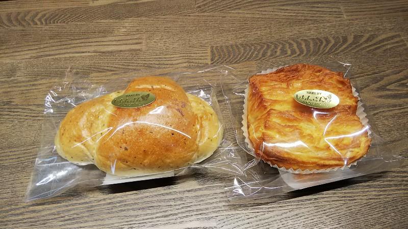 道の駅しもつま購入したパン2018
