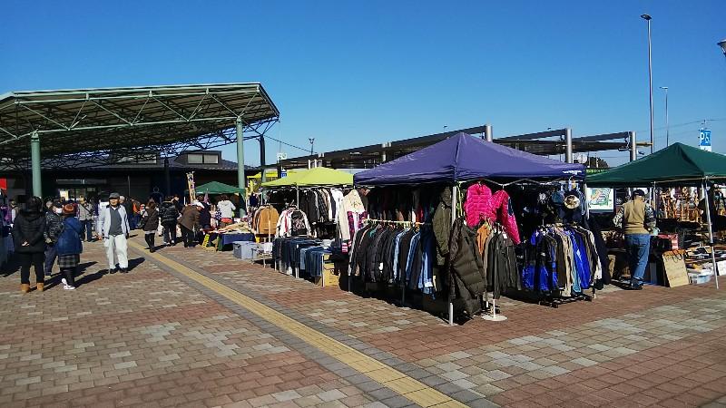 道の駅まくらがの里こがフリーマーケット2018
