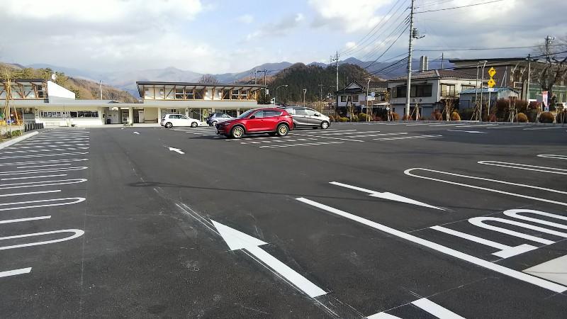 道の駅尾瀬かたしな駐車場2018