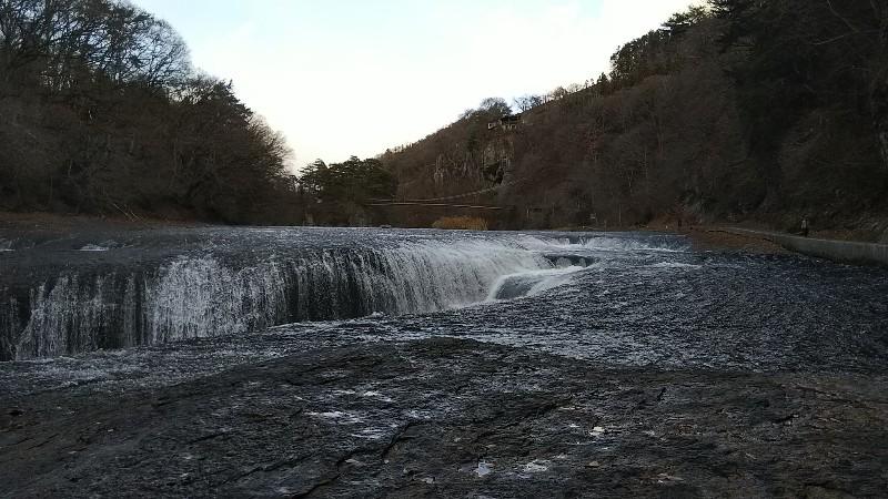 吹割の滝②201812