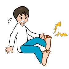 足の親指痛