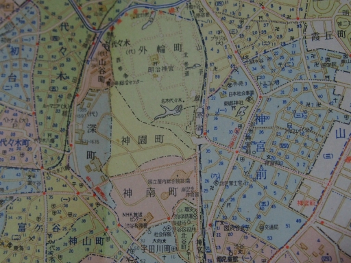 20170106・原宿地図07-2・昭和44年7月