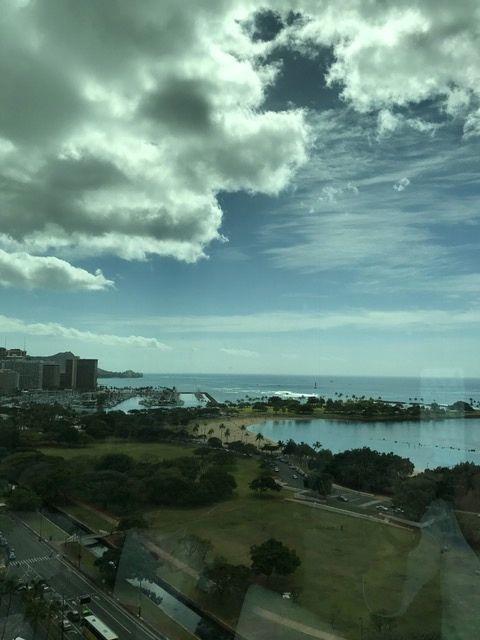 2月のハワイの空