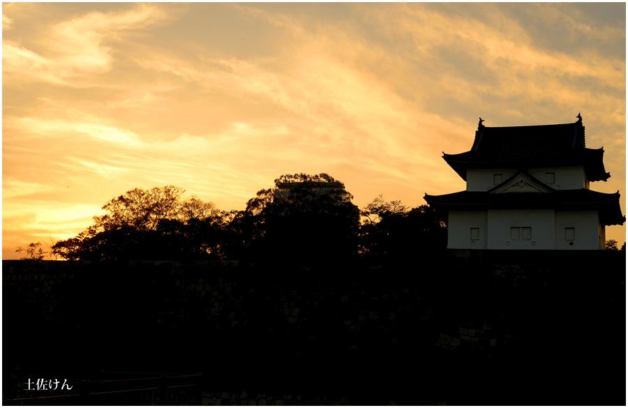 秋の大阪城4