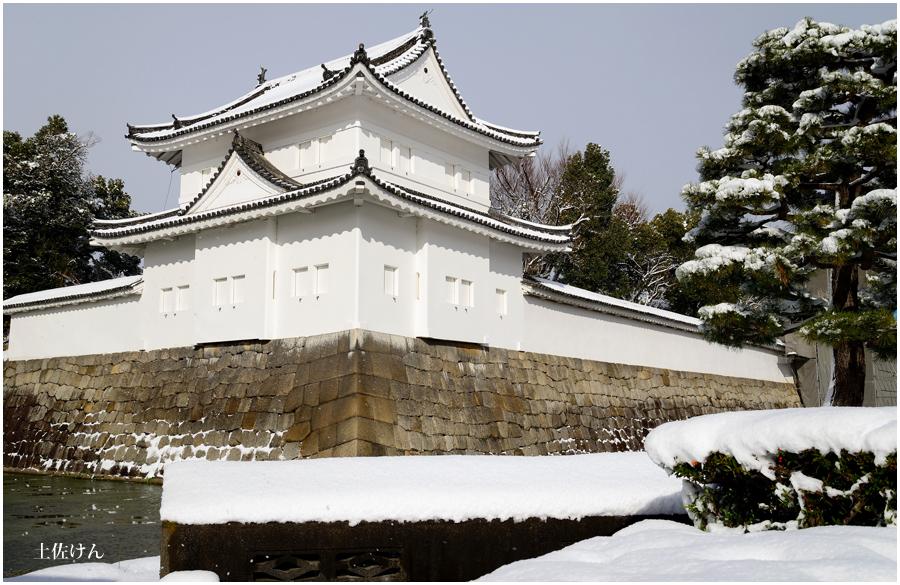 雪の京都1